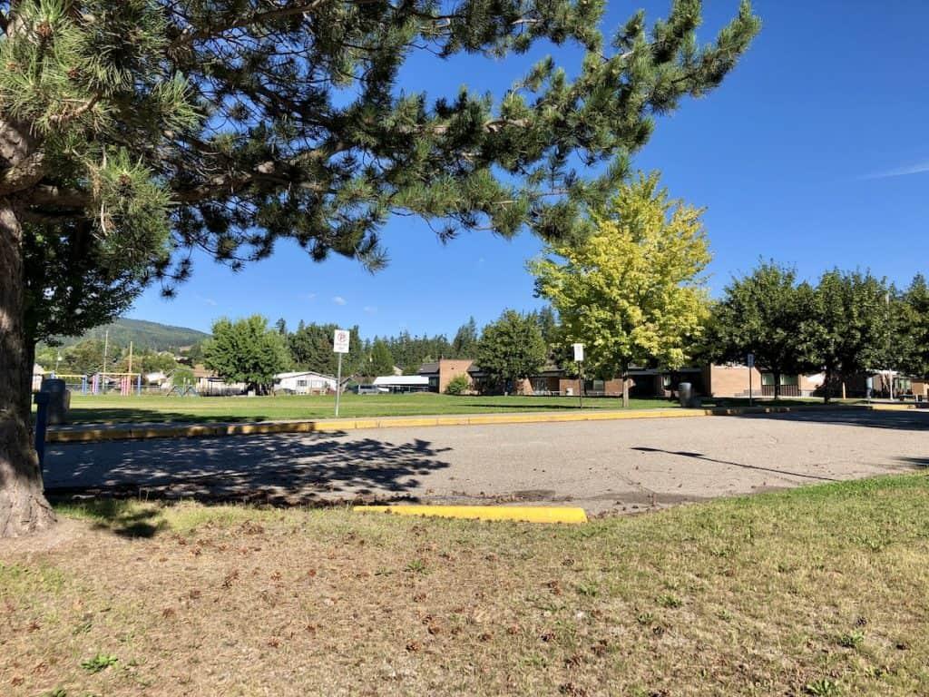 Fields Outside Highland Park Elementary School