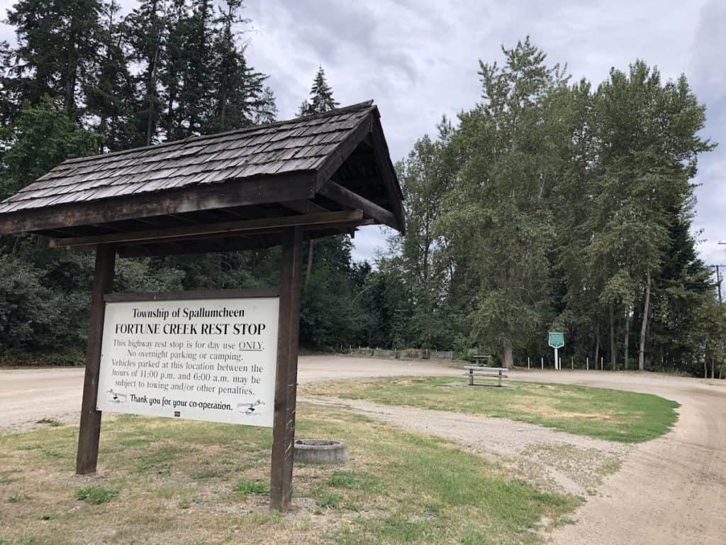 Fortune Creek Highway Rest Stop