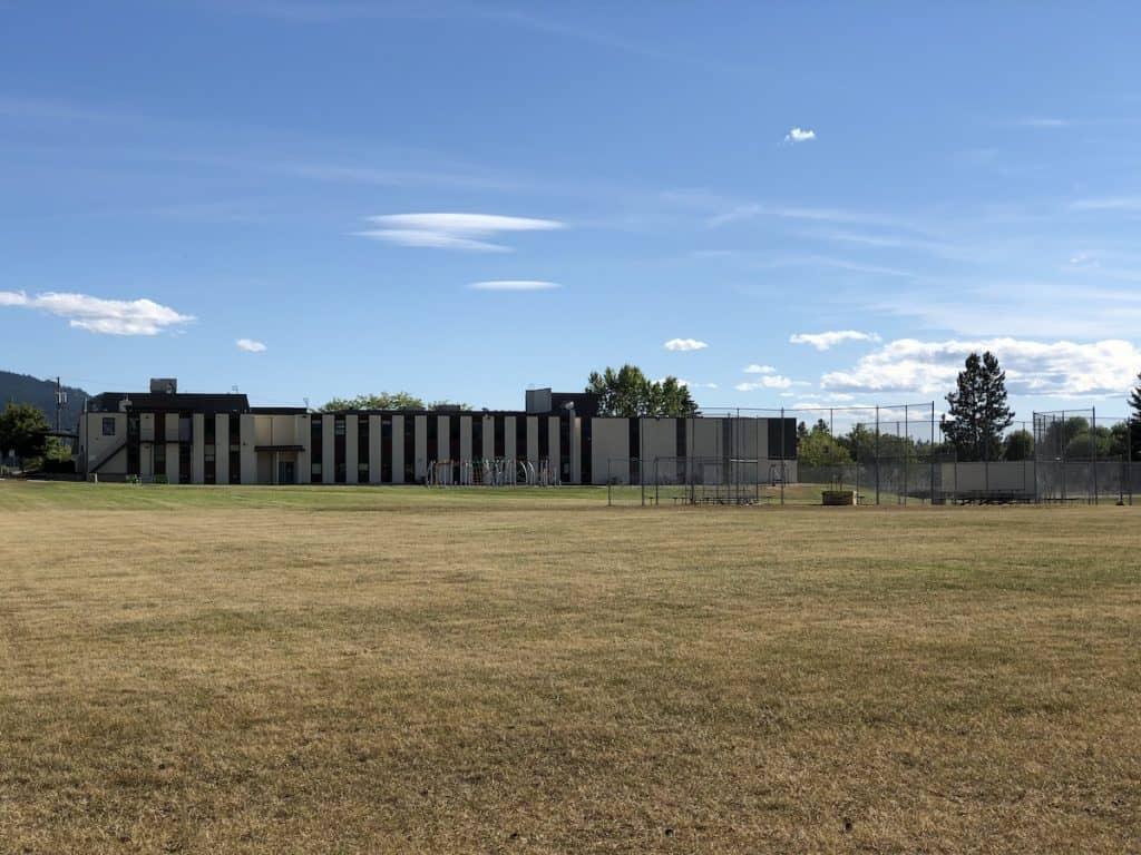 Len Wood School Field in Summer