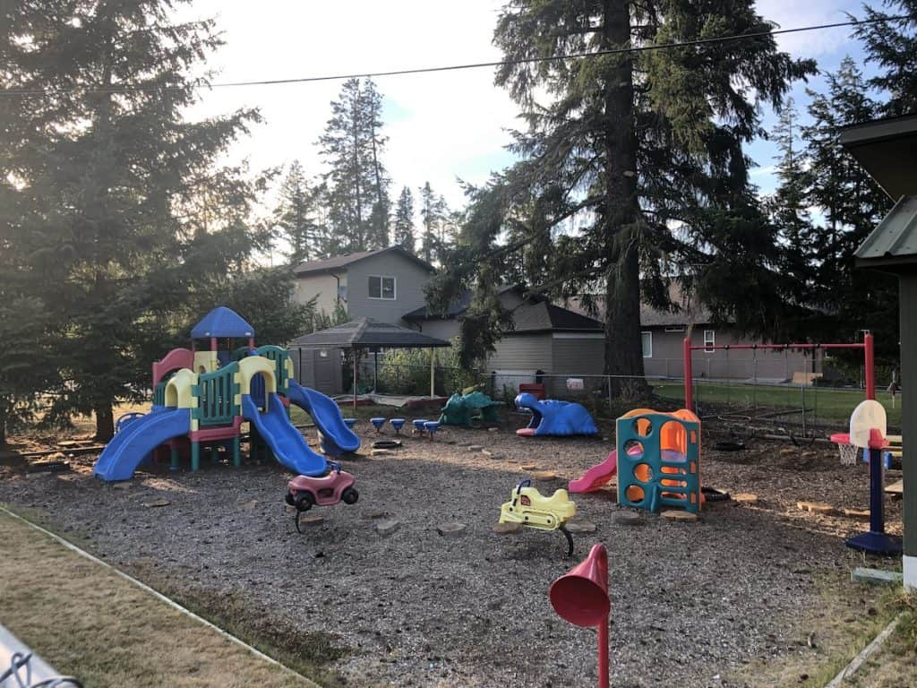 Playground at Armstrong Preschool