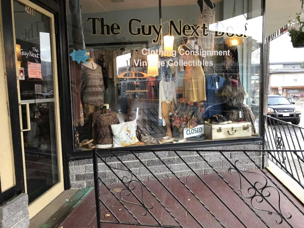 The Guy Next Door - Consignment Vintage Shop - Armstrong BC
