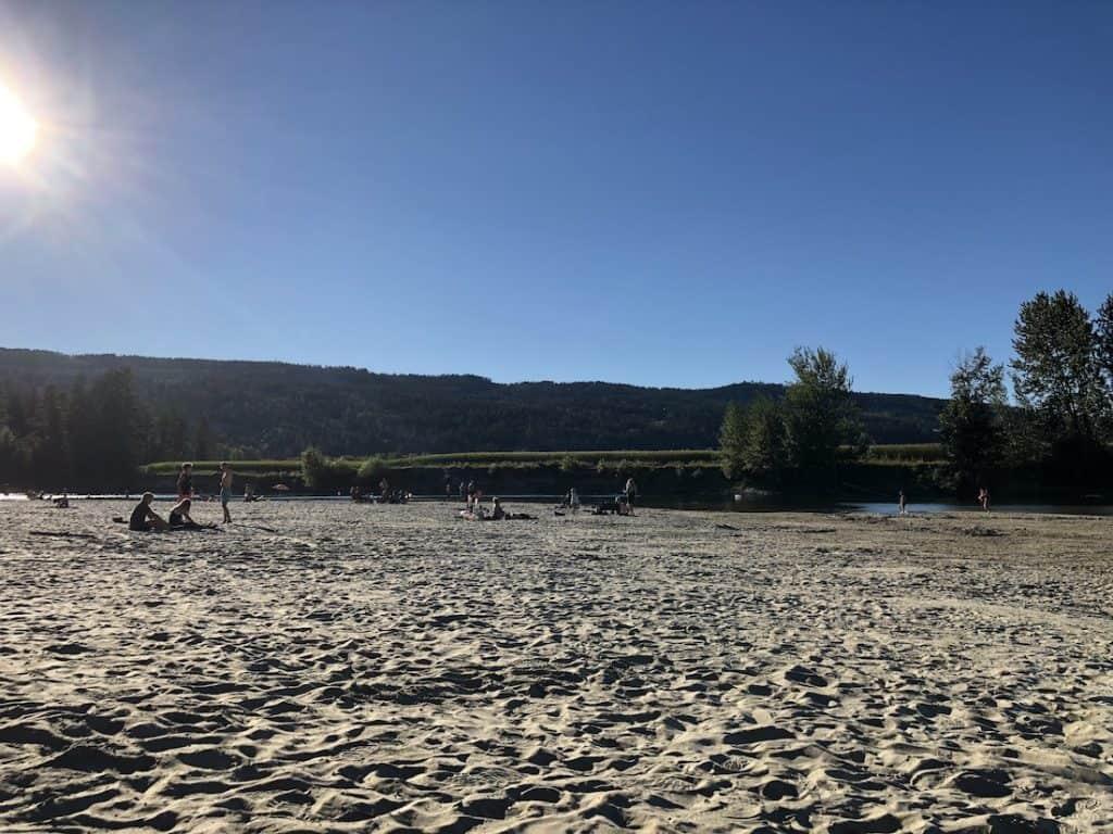 Enderby River - Sandy Beach