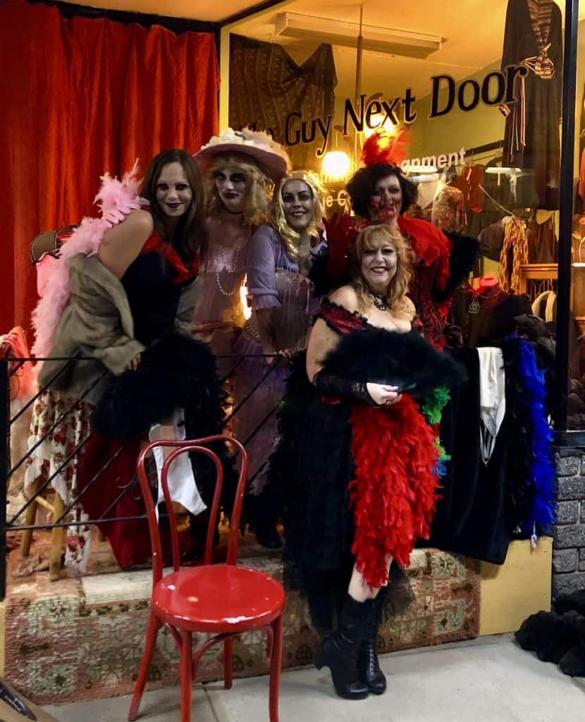 Armstrong Halloween Ghost Walk - Frugal Frocks and The Guy Next Door