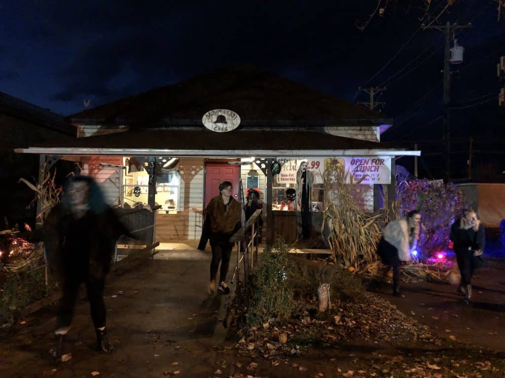 The Brown Derby - Armstrong Halloween Ghost Walk