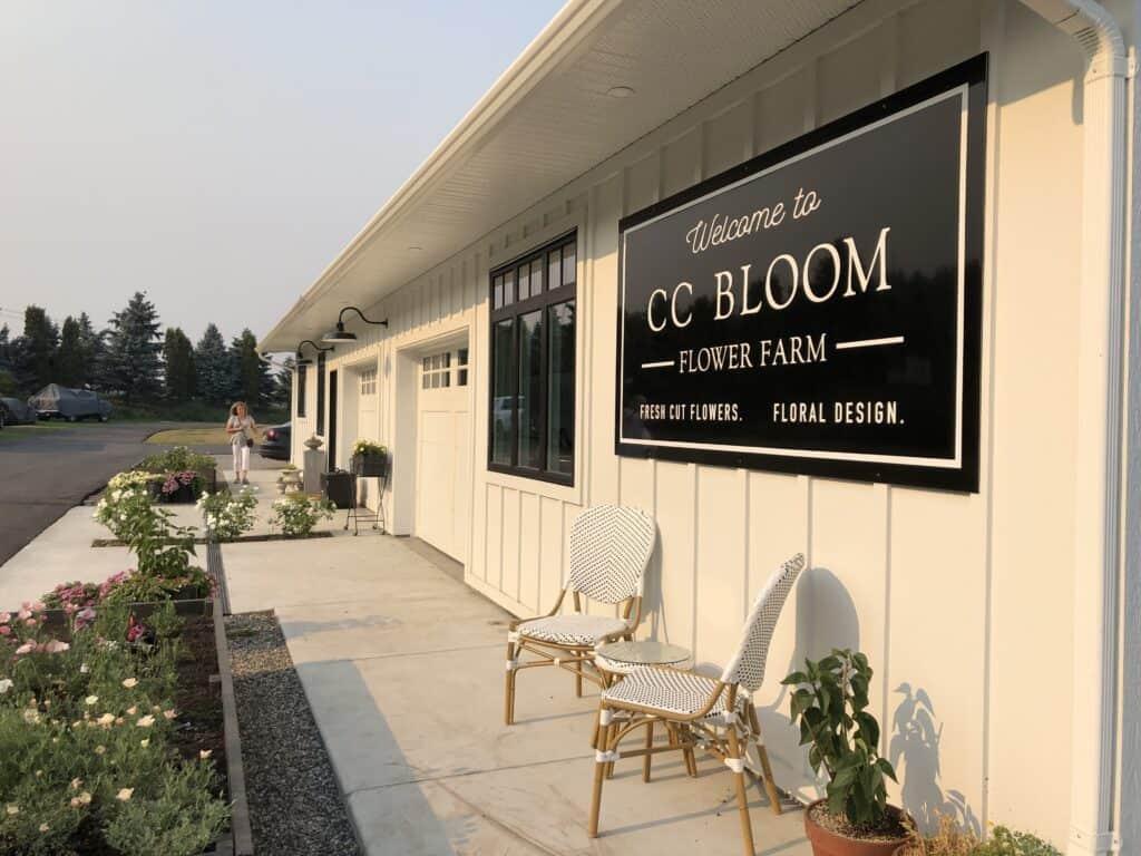 cc bloom flower farm - armstrong bc - okanagan valley
